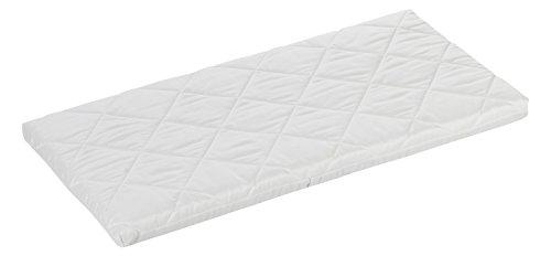 ALVI Babymatratze Air & Clean | 100% Baumwollbezug | Matratze für Stubenwagen | optimale Durchlüftung dank Klima-Kanäle | Wiegenmatratze 4 cm soft für Kinderwagen, Stubenkorb, Wiege, Beistellbett