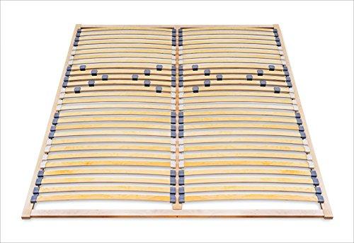 ECOFORM Lattenrost mit Härtegradregulierung 120/140/160/180/200 x 200 - vom Hersteller