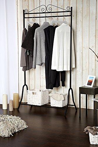 Garderobe Kleiderständer Kleiderstange Ständer Metall