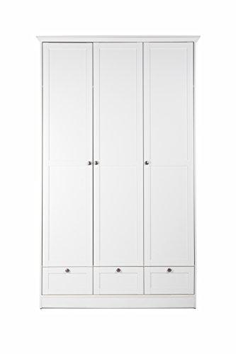 Intertrade Kleiderschrank Aura, dekor weiß