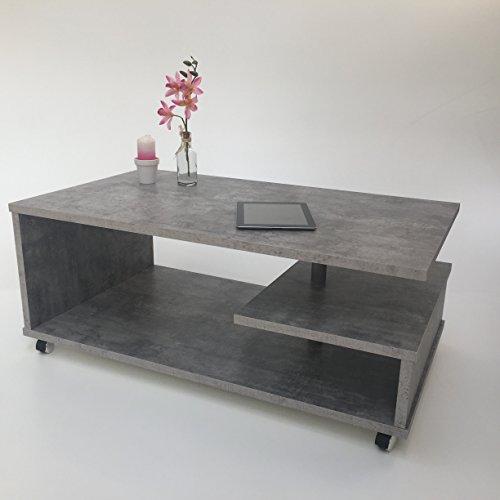 Möbel SD Couchtisch(Timmi) Betonoptik