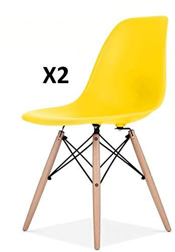 Millhouse Eiffel hochwertiger Stuhl im Retro-Design, fürs Esszimmer / Büro, als Beistellstuhl oder Vorzeigestück für die Lounge.