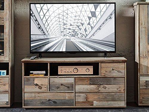 """TV-Lowboard Unterschrank Fernsehschrank HiFi Schrank Board Rack """"Britta III"""""""