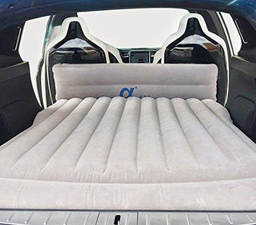 Topfit Auto Camping Luftbett Auto Reise Aufblasbare Matratze Fahrzeug Halterung SUV Sitz für Modell S und Modell X 5 Sitzer