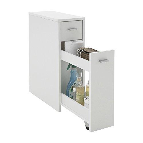 Unbekannt FMD Möbel 930-001 Kommode Denia 20 x 61 x 45 cm, weiß