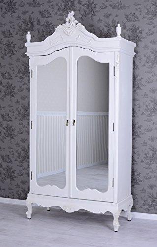 Vintage Kleiderschrank Shabby Chic Schrank Wäscheschrank Antik Stil Palazzo Exclusiv