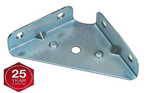 65mm Eckhalterung Brace Zwickel Winkel Befestigung Schrank Wohnwand x20