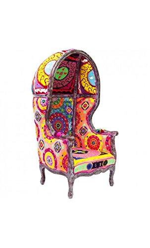 Kare Design Sessel Schutzhülle aus Stoff Sportmotive Bunte Shock