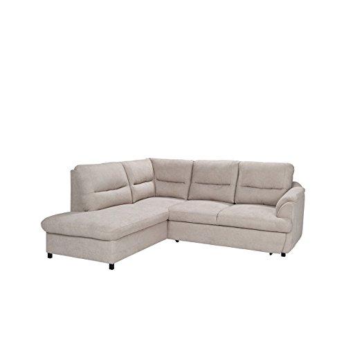 Mirjan24  Moderne Ecksofa Gusto, Silikonfüllung! Eckcouch mit Bettkasten und Schlaffunktion, Design Schlafsofa Polsterecke, Elegante L-Form Couch Couchgarnitur (Ecksofa Links, Bonn 23)