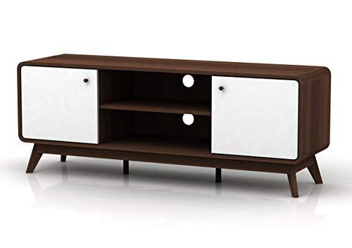 Loft24 Carmen TV-Tisch TV-Lowboard Fernsehtisch Fernsehschrank FSC Holz, skandinavisches Design