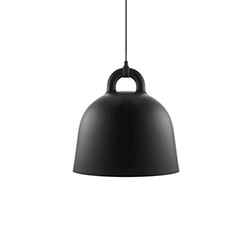 Normann Copenhagen - Bell Hängeleuchte - Schwarz - Ø 42 cm - Andreas Lund & Jacob Rudbeck - Design - Deckenleuchte - Pendelleuchte - Wohnzimmerleuchte
