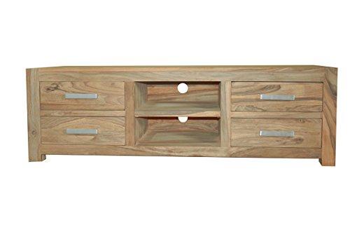 QUADRATO Lowboard/TV Board INDO, Holz Sheesham natur