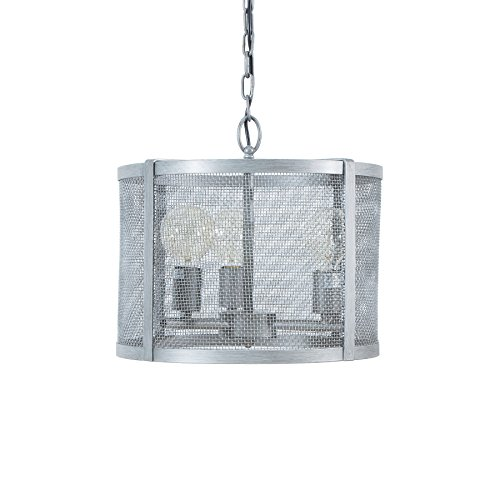 Riess Ambiente Moderne Hängeleuchte LOFT 40cm iron grau Industrial Design Industrielampe Hängeleuchte Esszimmerbeleuchtung