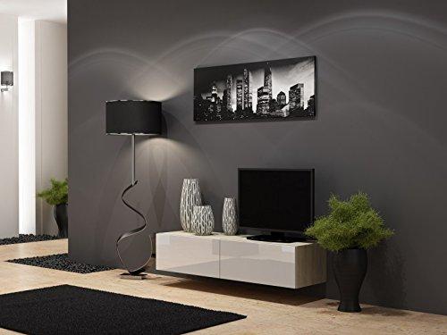 TV Board Lowboard Migo Hängeschrank Wohnwand