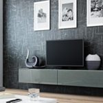 Tv Schrank Hängeschrank Lowboard VIGO in MDF Hochglanz Pusch Click Farbauswahl