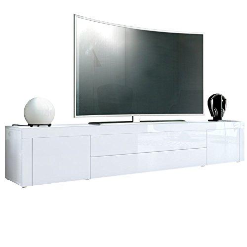 Vladon TV Board Lowboard La Paz Weiß