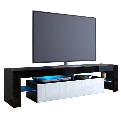 Vladon TV Board Lowboard Lima V2 V1 Schwarz