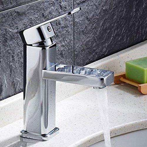 AllRight Badarmatur Wasserhahn Waschtischarmatur Einhandmischer hoch Bad Küche Armatur