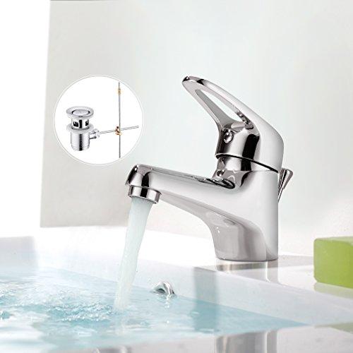 BONADE Einhand-Waschtischarmatur Wasserhahn Bad Armatur für Badezimmer Waschbecken