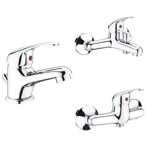 CON:P PICCOLO Waschtisch-Einhebelmischer, chrom, SA840, Virtual Bundle