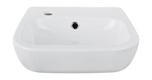Handwaschbecken nugolO, Hahnloch links