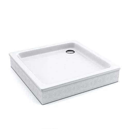 AQUABAD® Duschwanne Comfort Forta Quadrat zum befliesen