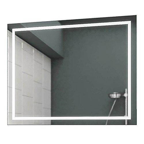 Concept2u LED Badspiegel Badezimmerspiegel Wandspiegel Bad Spiegel - 3000K Warmweiß