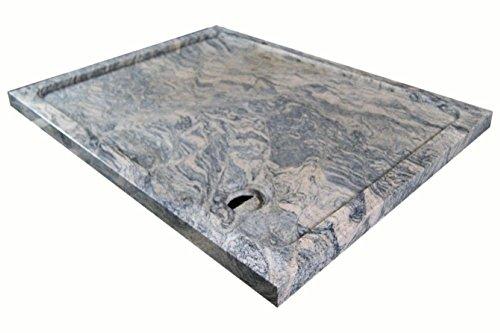 Duschwanne aus Naturstein, Duschtasse, Granit, 120*90cm, Juparana