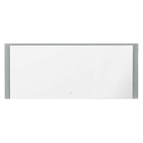 LEBENSwohnART KROLLMANN LED-Badspiegel Tibi 120x50cm Touch Sensor Wandspiegel mit Beleuchtung