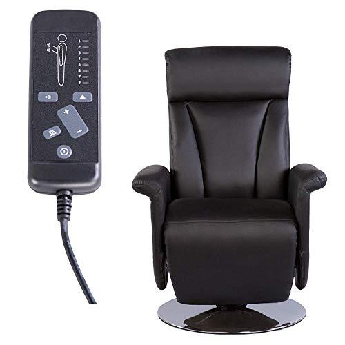 MACO Import Fernsehsessel TV Sessel mit Relaxsessel mit Massage und Heizung