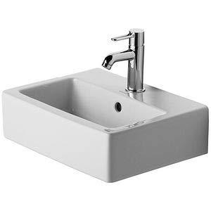 Duravit Handwaschbecken Vero Breite 45cm 1 Hahnloch, weiß 704450000