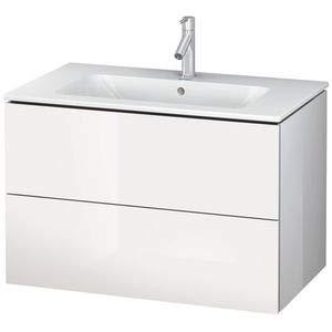 Duravit Waschtisch l-cube 2Schubladen 620x 481weiß glänzend